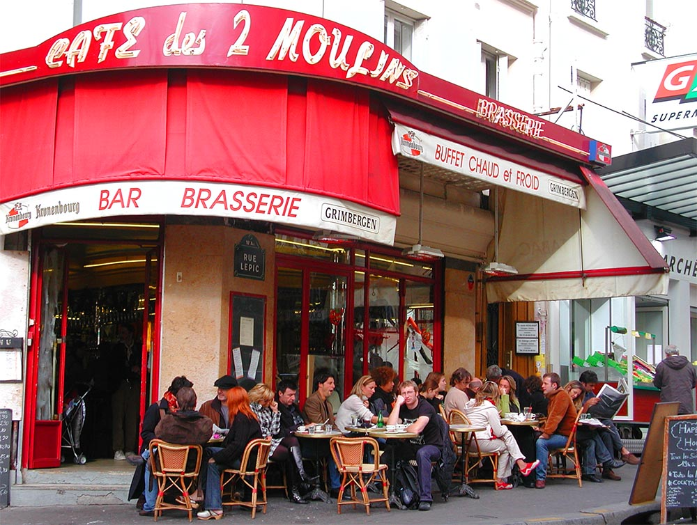 Cafe des deux moulins